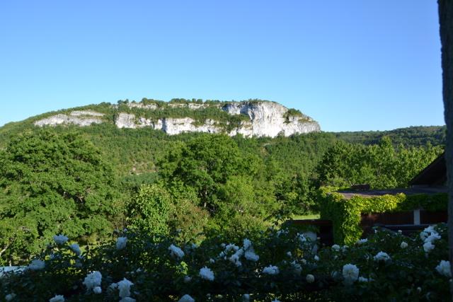 Falaise de l'oppidum,Brengues