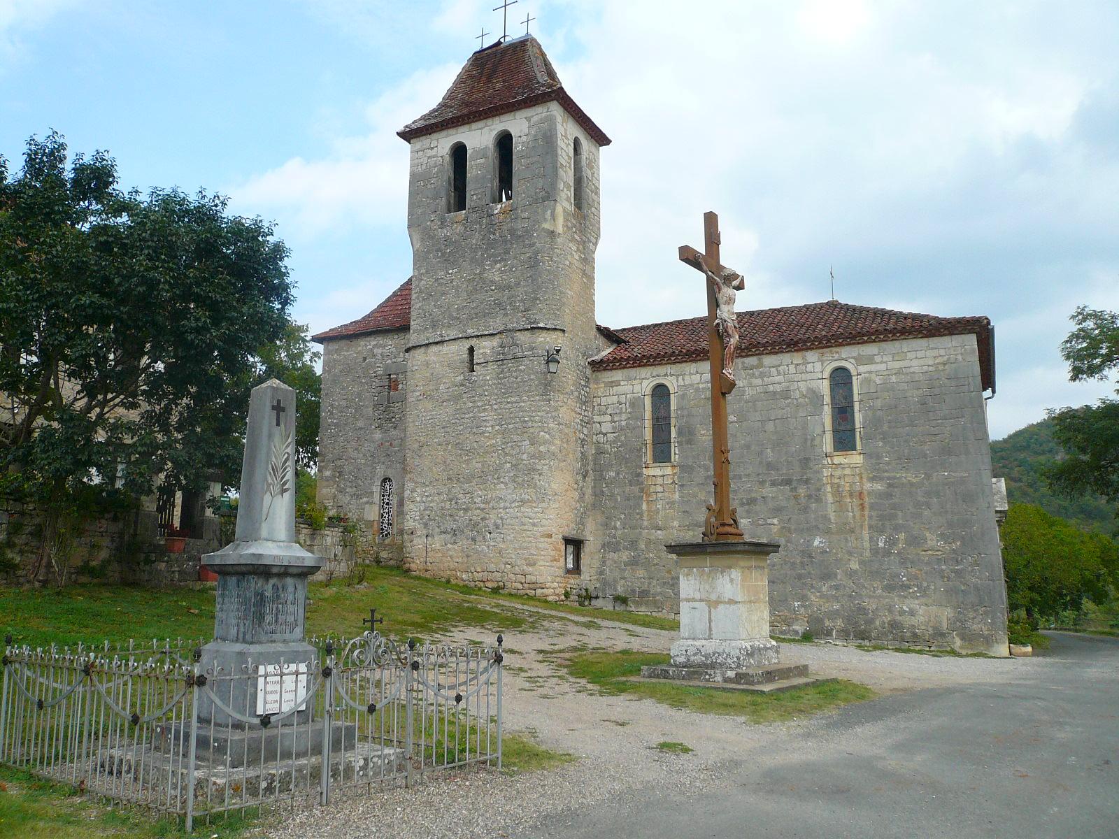 Brengues,église