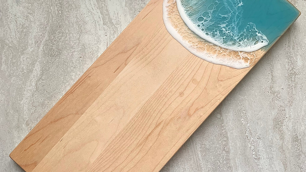 Double Cleat Classic Serving Board - Maple