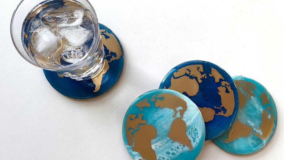 Globe Trotter Charity Coaster