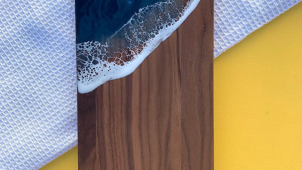 Walnut Thumb Hole Serving Board