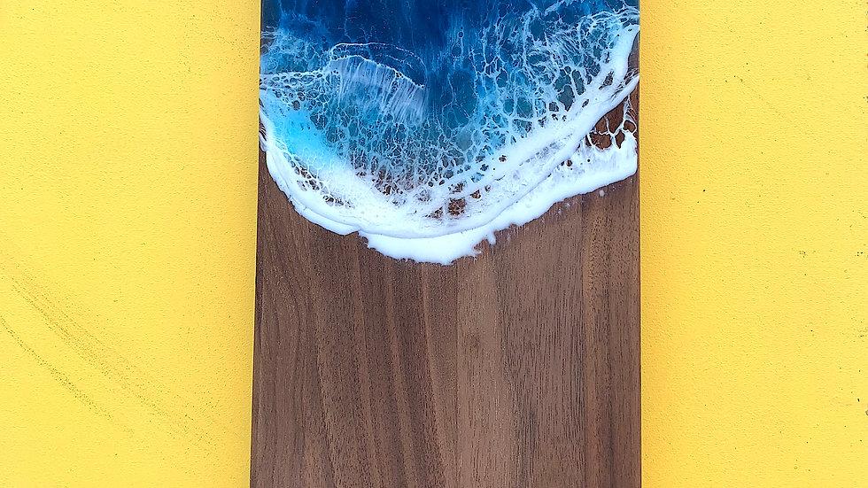 Walnut Thumbhole Serving Board