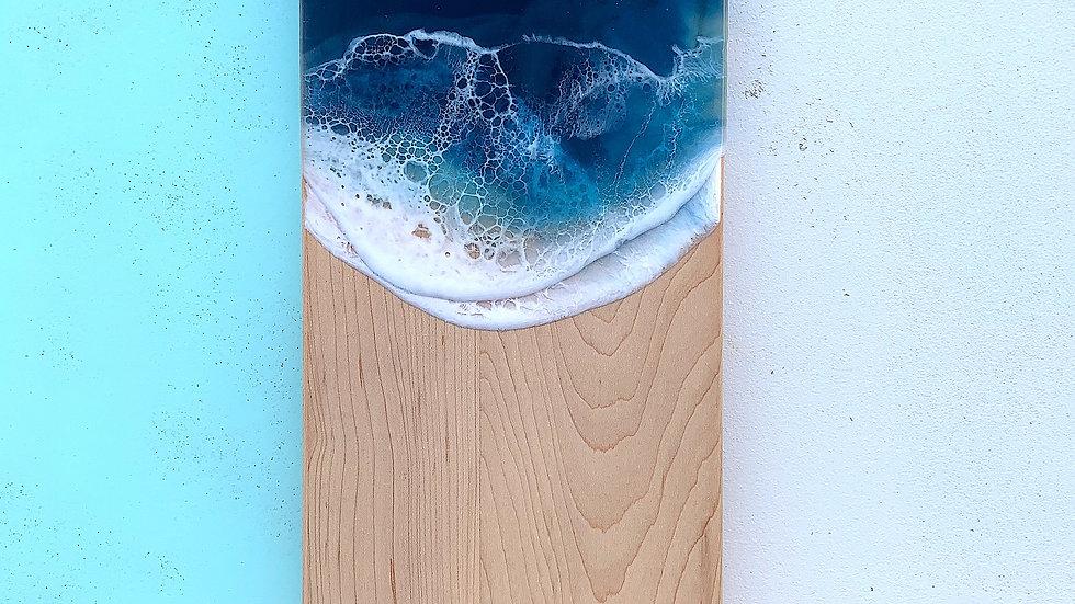 Maple Thumbhole Serving Board