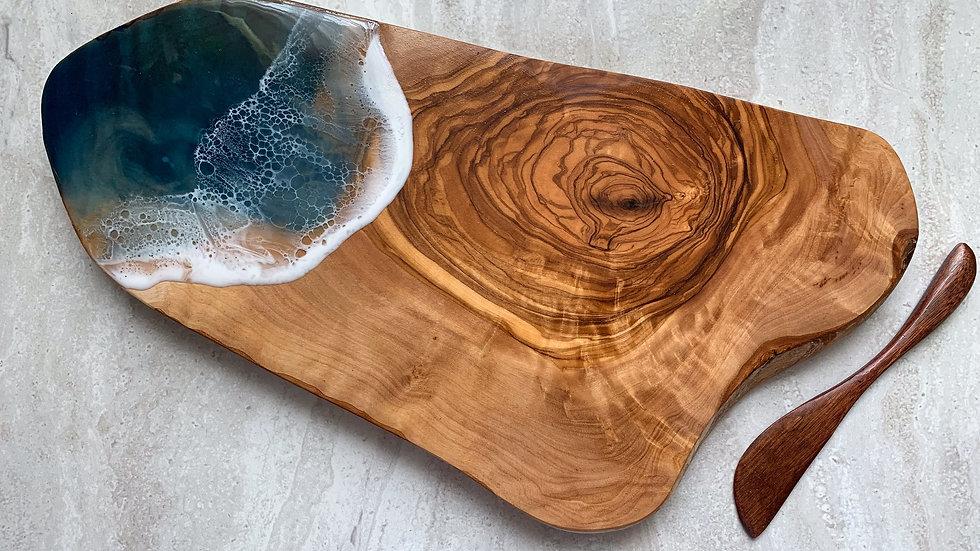 """14"""" Olive Wood Serving Board"""