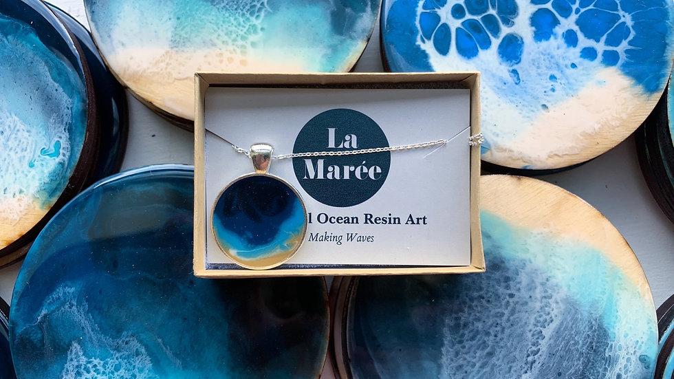 Sea Pendant Necklace