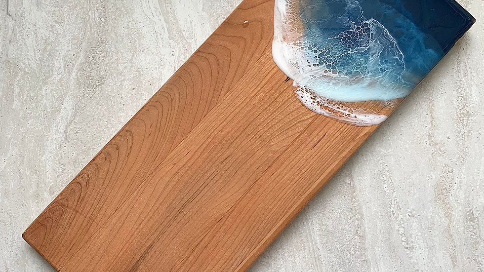 Double Cleat Classic Serving Board - Cherry