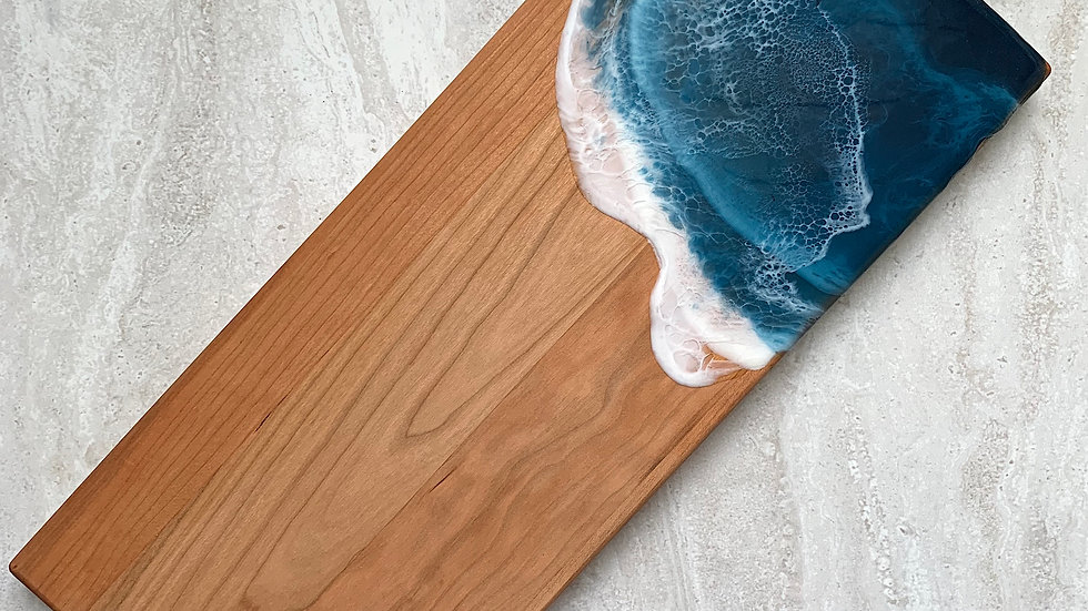 Classic Cleat Serving Board - Cherry