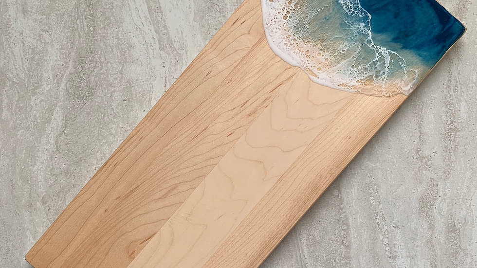 Double Cleat Maple Serving Board