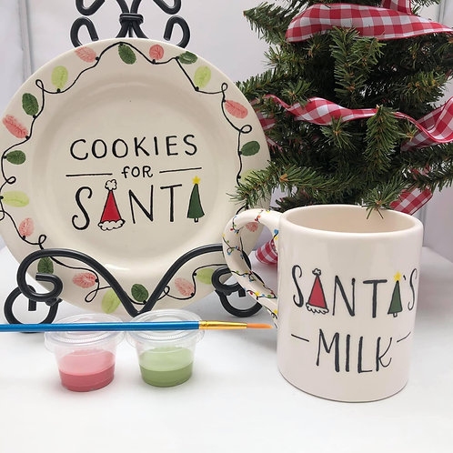 Cookies for Santa Painting Set