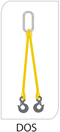double leg round sling bridle