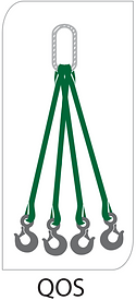 4 leg round sling bridle