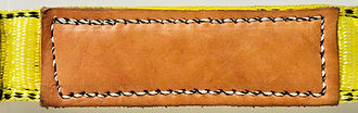 leather buffer pad