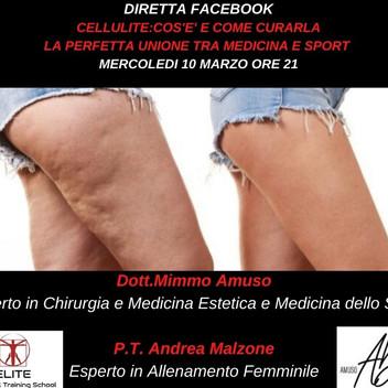 DIRETTA FB:CELLULITE-COS'E' E COME CURARLA