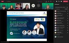 ขอบคุณมากๆครับ ที่ได้เชิญผมเข้าร่วมพูดคุยเกี่ยวกับ Emerging Digital Trends and Blockchain ครับ 🙏🙏  #Bitkub #Blockchain