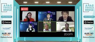 มาพูดที่ APAC Fintech Bridge ในฐานะ Thai Fintech Association (สมาคมไทยฟินเทค) ครับ 🙏  #TFA #blockchain