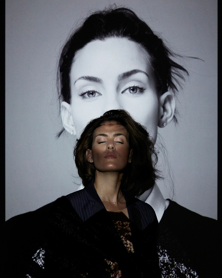 Self-Portrait Projector Series