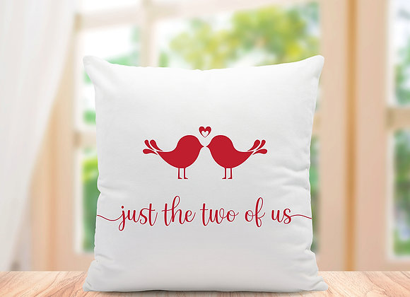 Just the two of us cushion