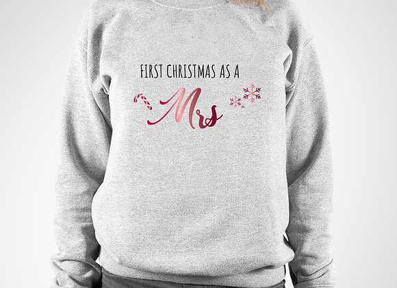First Christmas as a Mrs