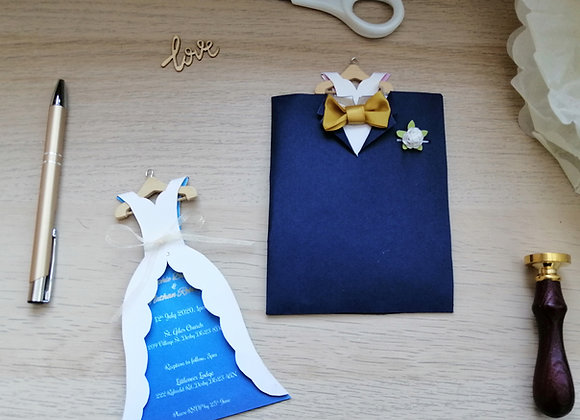 Pouch - suit and dress