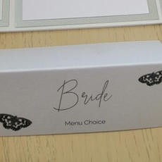 Tent fold place cards