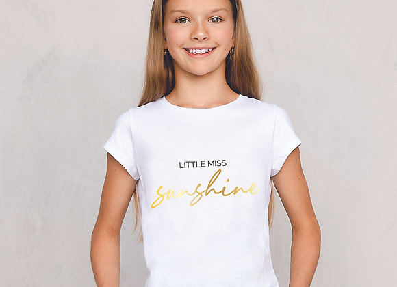 Little Miss... t-hirts fully personalisable