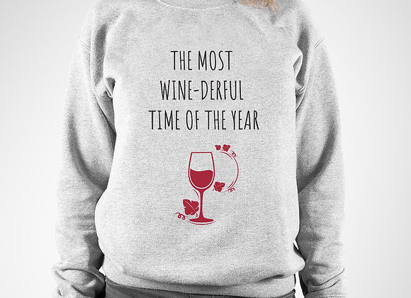 Most wine-derful time of the year