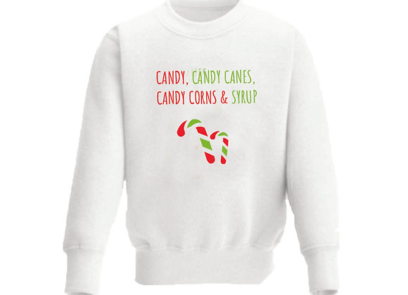 Elf inspired: Candy, Candy Canes, Candy Corns, Syrup