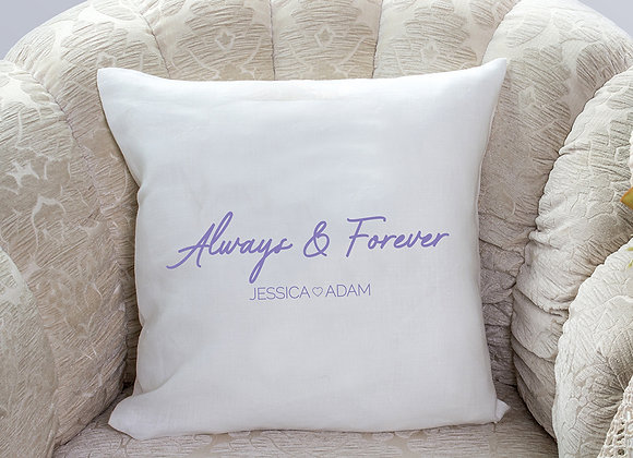 Always & Forever cushion