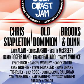 Pepsi Gulf Coast Jam 2021 Announces Full Lineup