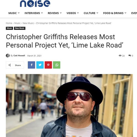 Nashville Noise: Christopher Griffiths Releases Most Personal Project Yet, 'Lime Lake Road'