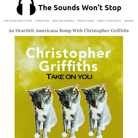 The Sounds Won't Stop: An Heartfelt Americana Romp With Christopher Griffiths