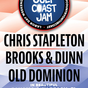 Pepsi Gulf Coast Jam 2021 Headliners Announced