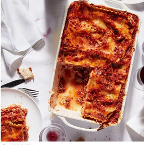 Celebrating National Lasagna Day with Tony Bennett's Mother's Lasagna