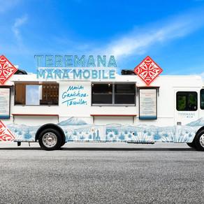 Teremana's Mana Mobile - Visiting Nashville this Week