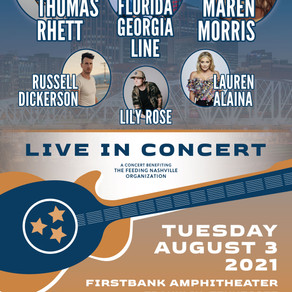 JOIN US FOR A NIGHT OF MUSIC + COMMUNITY: TICKETS ON SALE NOW FOR TOGETHER: FEEDING NASHVILLE (8/3)