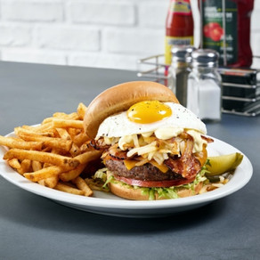 New Piled High Burgers for Father's Day at Metro Diner