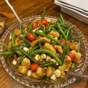 Pesto Gnocchi Salad