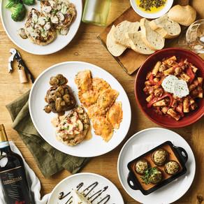 Italy vs. California Tasting Experience; New Johnny Trio Entrée at Carrabba's Italian Grill