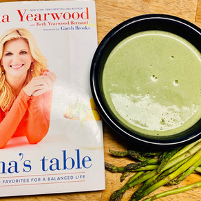 DISH OF THE MONTH - CREAMY ASPARAGUS SOUP
