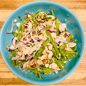 DISH OF THE MONTH- CHICKEN & SUGAR SNAP PEA SALAD