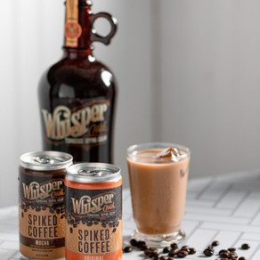 WHISPER CREEK TENNESSEE SIPPING CREAM LAUNCHES NEW PRODUCT—WHISPER CREEK SPIKED COFFEE COCKTAILS