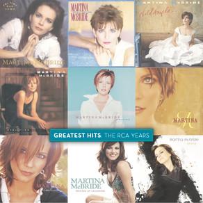 Country Music Icon Martina McBride Announces Vinyl Greatest Hits Double LP