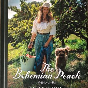 """Paulina Brand is Releasing her First Book, """"The Bohemian Peach: Taste of Home"""""""