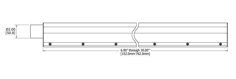 JETX Air Knife SX Lengths
