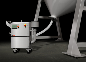 JETAIR'S PHARMADRY DRASTICALLY IMPROVES BLENDER DRYING TIMES