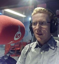 Vic at BBC 5Live Radio IMG_20160802_2131