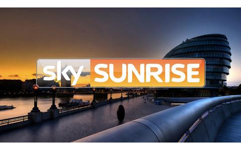 Sports psychologist on Sky Sunrise breakfast TV image logo
