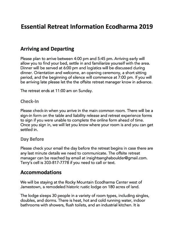 Essenti Retr Info RMERCEcodharma 2019.jp