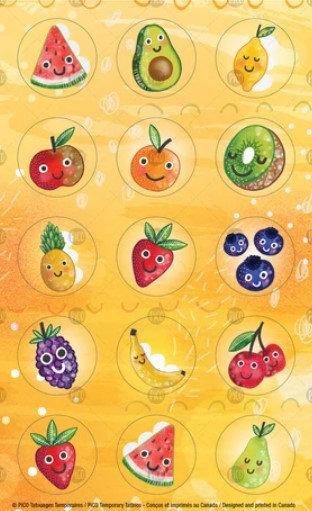 Les fruits en folie - PICO Autocollant