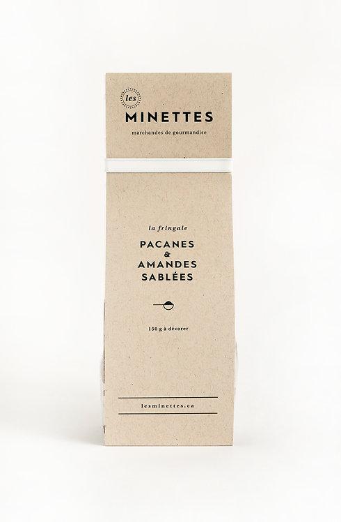 Pacanes & amandes sablées - Les Minettes